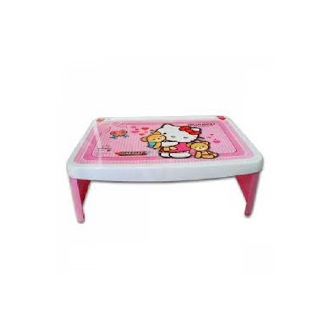 Meja Lipat Anak Lesehan Lap Desk Plastik Karakter Hello Kitty Napolly