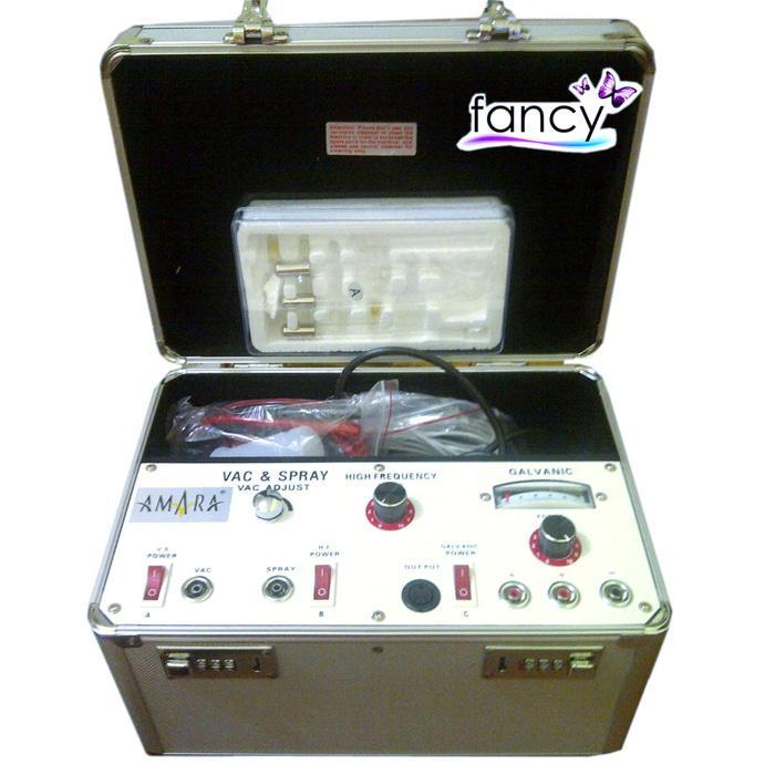 Alat FACIAL 4 FUNGSI AMARA (High Freq- Galvanic- Vacuum- Spray) / Beauty Instrument