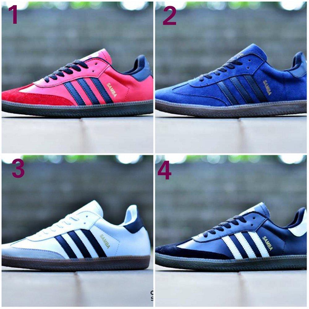 Promo Sepatu Pria Adidas Samba Classic Made In Vietnam Casual Sneakers Kets Kuliah Olahraga GRATIS 1PASANG KAOS KAKI Fashion