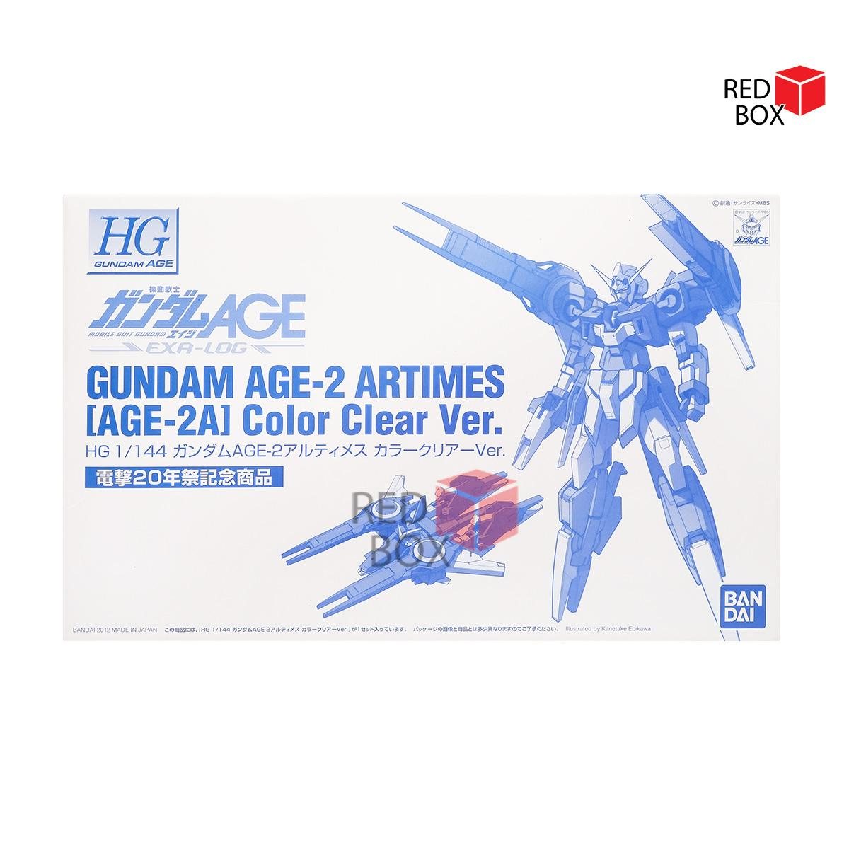 Termurah Mainan Koleksi HG 1/144 Age 2 Artimes Clear Color ver Limited Anime Cartoon