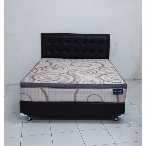 ... Comforta Super Fit Silver Uk120x200 Komplit Set; Page - 3. Spring Bed Romance Feelings Plush Top 180 x 200 Full Set Free 2 Pasang Bantal Guling