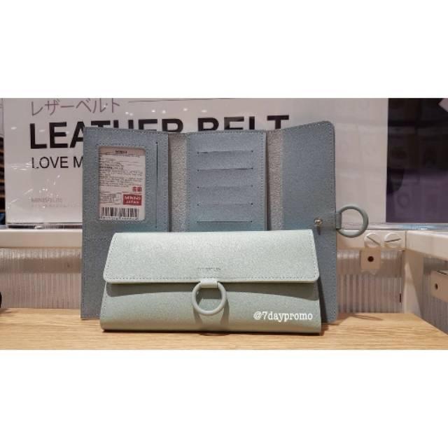 Women long wallet with ring / Dompet Panjang MINISO