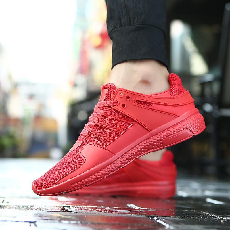 Yuzi Musim Panas Ukuran Besar 39-44 Pria Menjalankan Sepatu Hot Sale Jogging Pria Sneakers Mesh Sepatu Olahraga Sepatu Olahraga pria