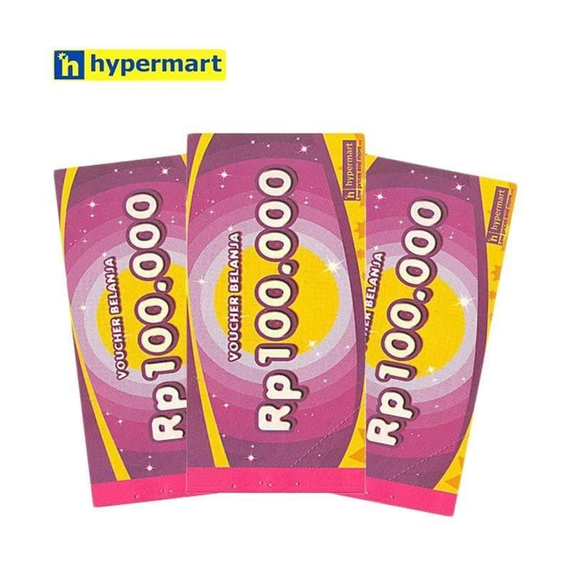 Voucher Belanja Hypermart R4456