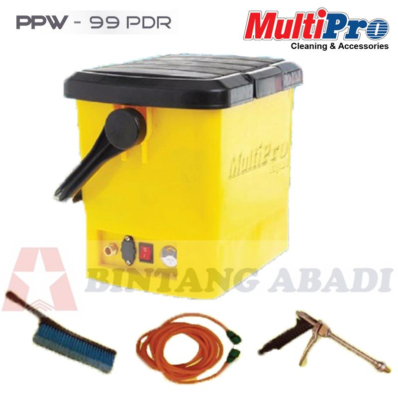 Termurah MultiPro Portable Pressure Washer (Mobil, AC, Watering) - PPW-99 PDR Harga Grosir