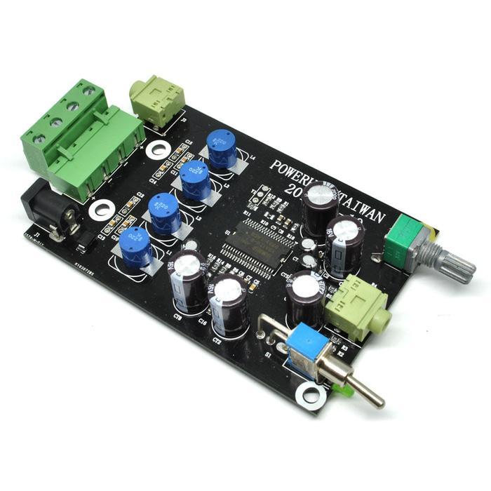 DIY Yamaha Digital Headphone Amplifier Board 2 X 20W 12V - YDA138-E