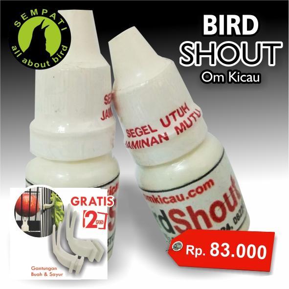 Bird Shout Om Kicau Obat Burung Sakit Macet Bunyi Pasca Mabung Kalah Mental Turun Tangkringan