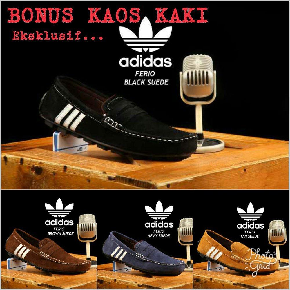 Beli Sale Promo Sepatu Murah Store Marwanto606 Kaos Kaki  Bagus Diskon Big Casual Slop Adidas Moccasin Slip On 4 Pilihan Model