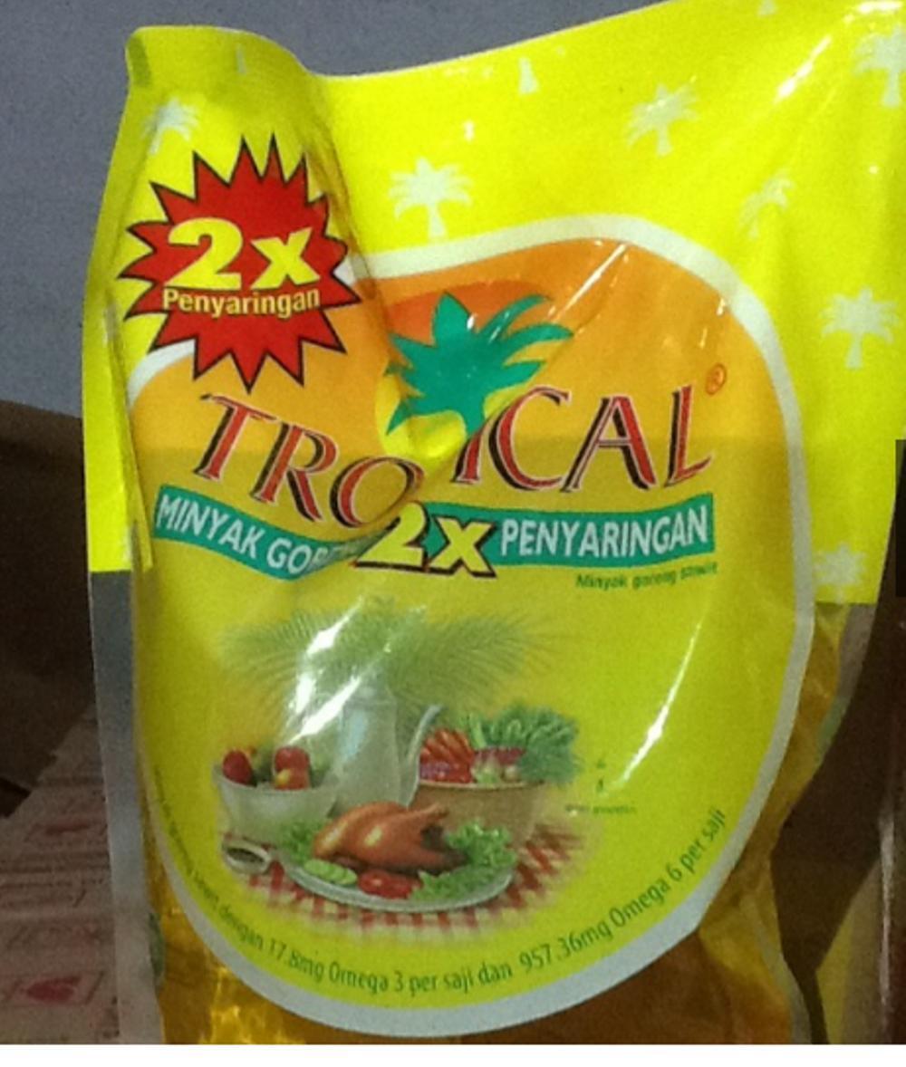 Minyak Goreng Tropical Kemasan 2 Liter