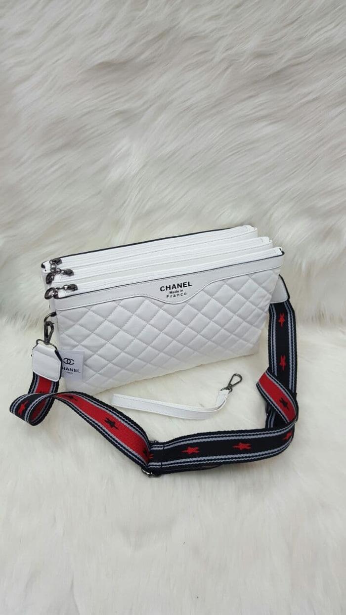 harga Tas Wanita Sling Bag Chanel Triasu 1 Lazada.co.id