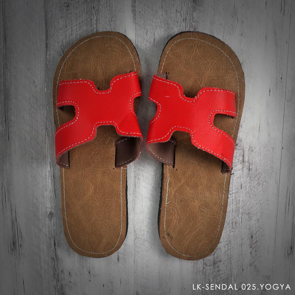 Sandal Jogja Murah - Slip on - Merah - 68294 - RTA0704