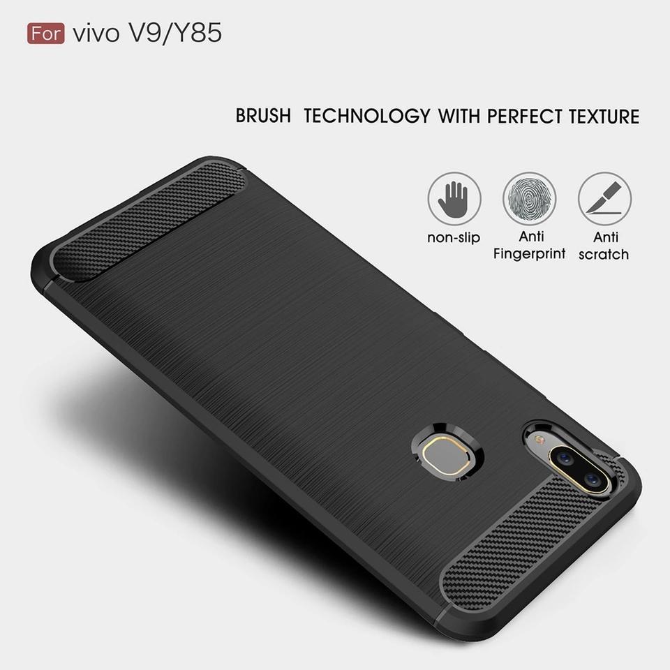 Cek Harga Baru Case Vivo V9 Armor Carbon Terkini 2