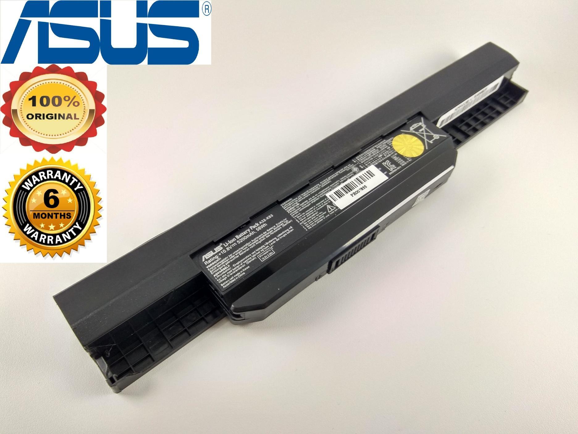 Asus Baterai Original A43 A53 K43 K53 X43 A32 K53 A42 K53 X44H K43S K53U X44L SPECIAL