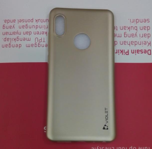 Detail Gambar Case Xiaomi Redmi Note 5 Pro Soft Case Silikon Violet Note 5 Pro Terbaru