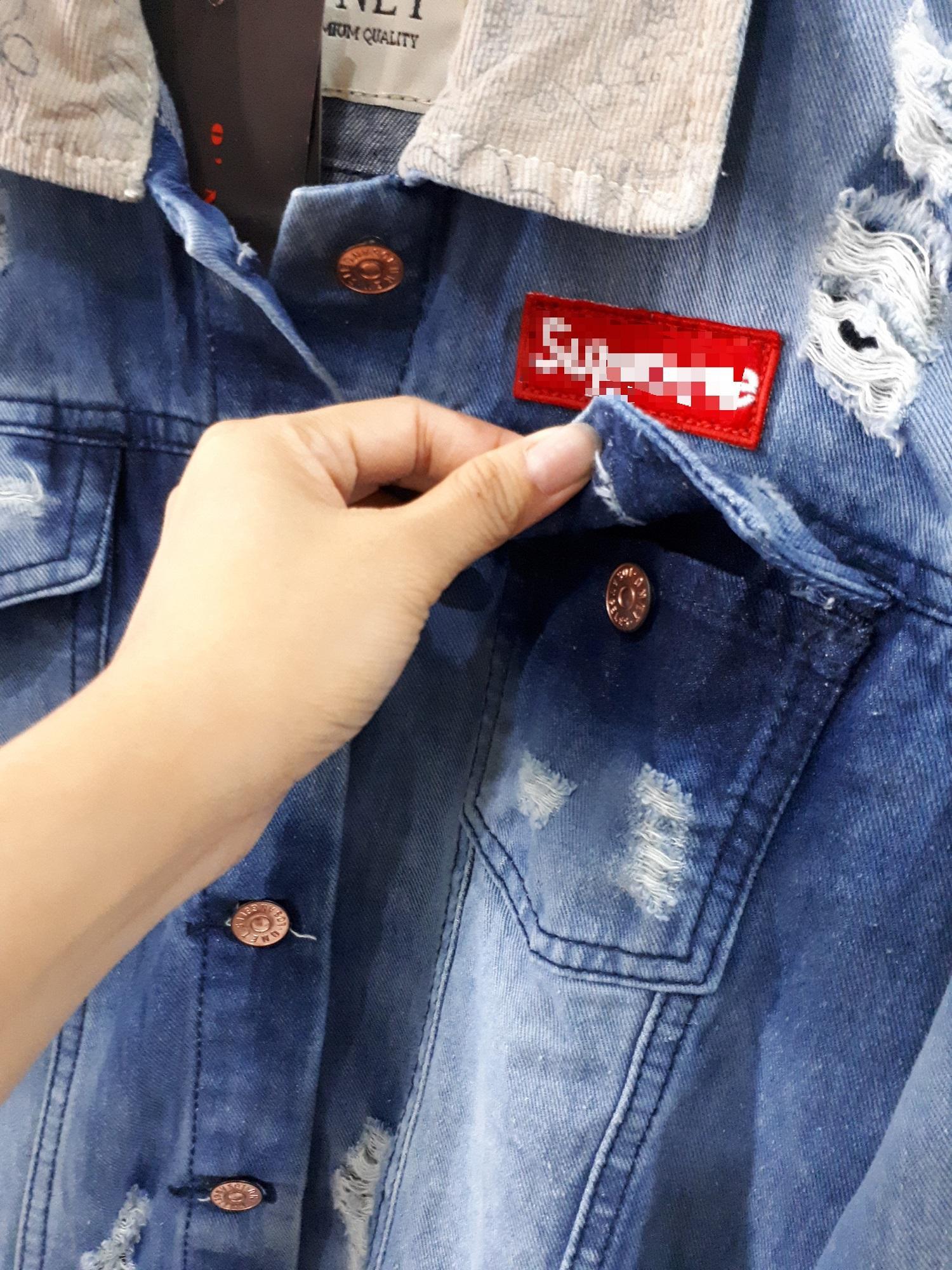 Review Fox Jaket Jeans Sobek Jins Cowo Cewe Jacket Denim Pria Panjang Murah Photo Produk Asli Long Coat