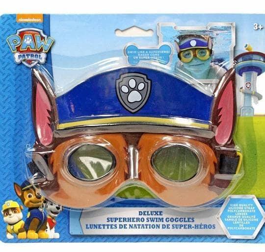 Paw patrol Chase Deluxe Superhero Swim Goggles