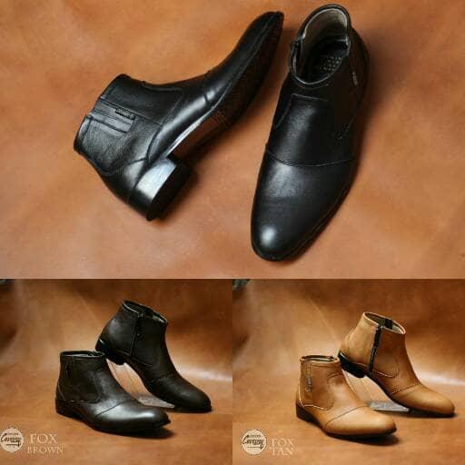 Promo Sepatu pantofel kulit asli original cevany kickers lacoste bally lv Fashion murah
