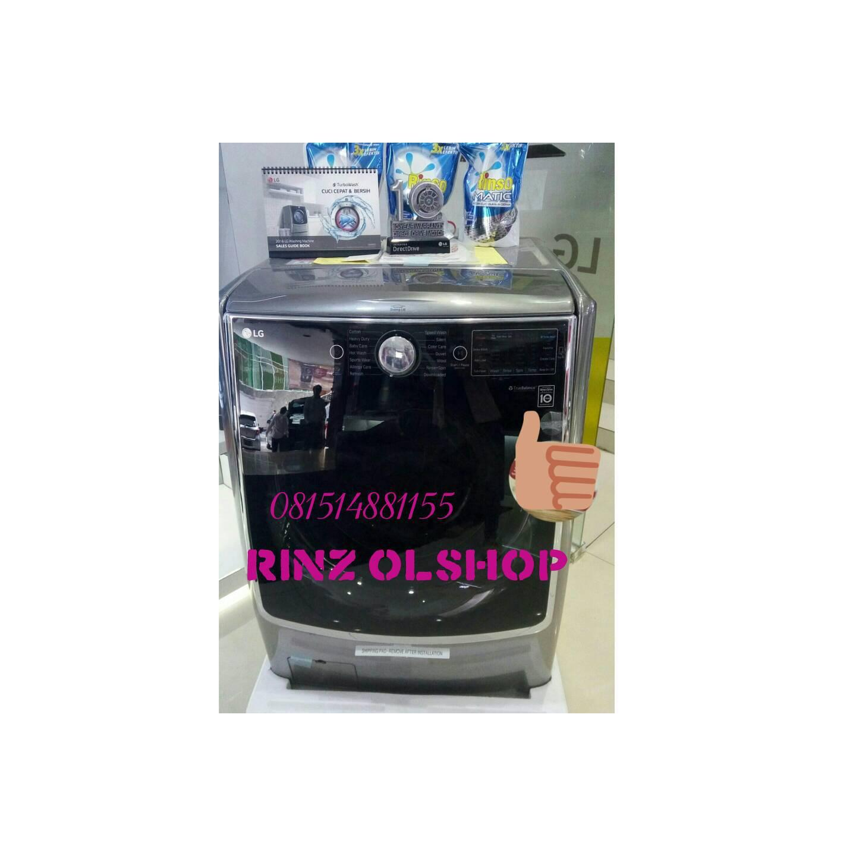 MESIN CUCI FRONT LOADING LG 21KG INVETER/ LG F2721STWV PROMO...
