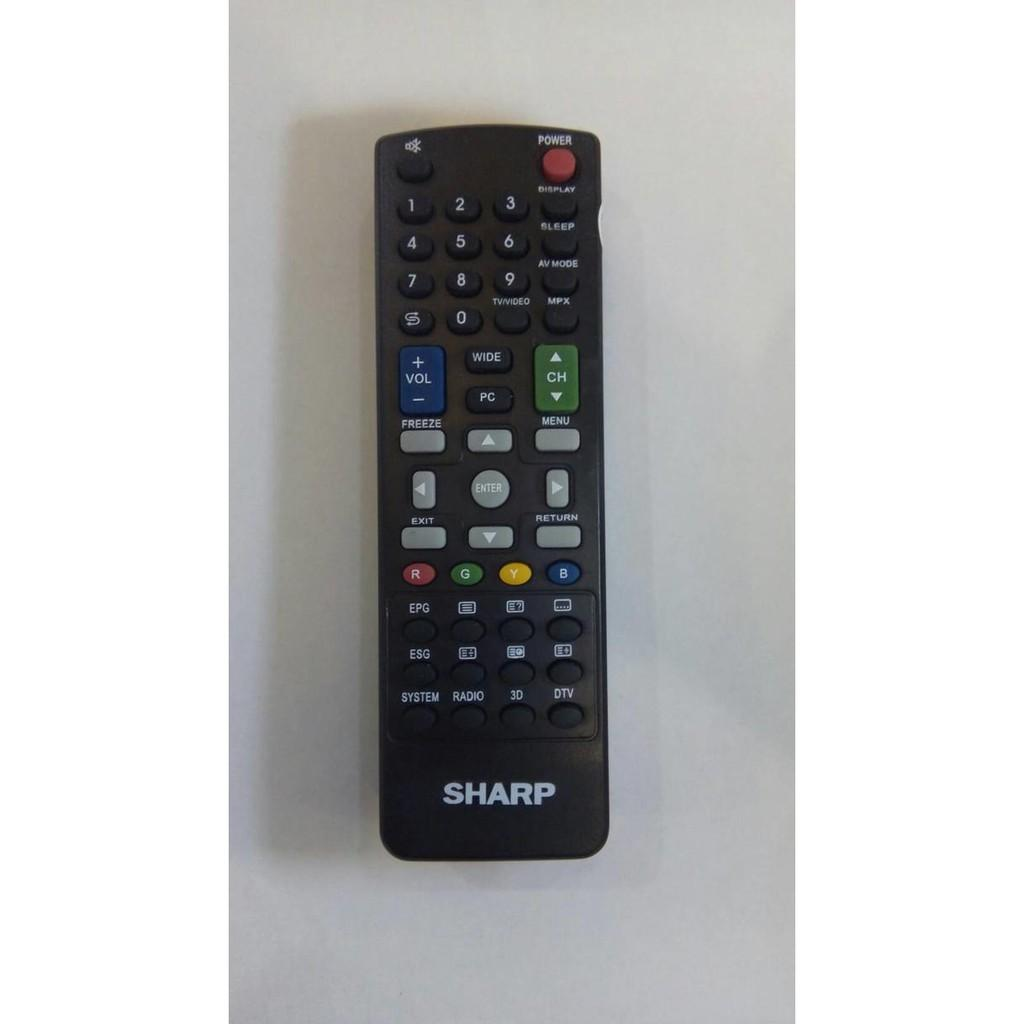 SPECIAL!! REMOT/REMOTE TV SHARP LCD/LED 3D KW