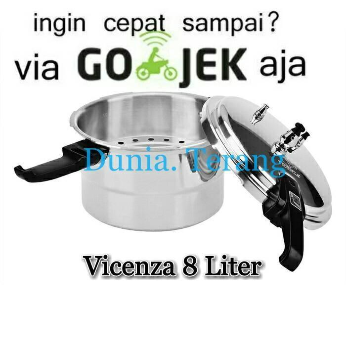 Panci Presto Vicenza 8 liter / Pressure Cooker Vicenza 8 Liter