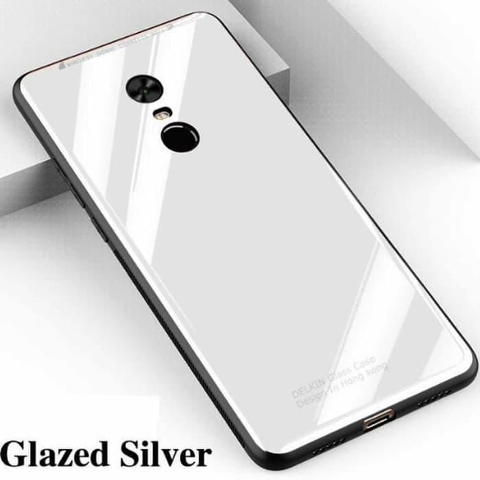 Delkin Glass Case Original for Oppo A37 - Putih