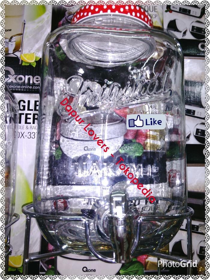 (Pengiriman Gojek/ Motor) Nakami Dispenser Jar || Satu Tabung Kaca