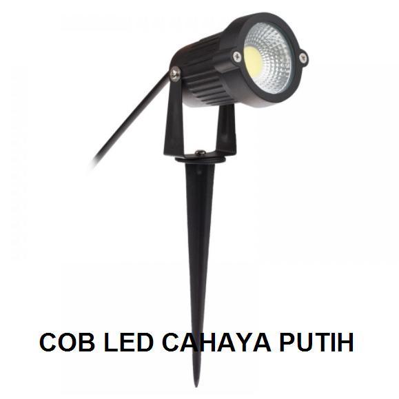 Best Seller!!! LAMPU LED 5 WATT COB TANCAP SOROT TAMAN / LUKISAN / DEKORASI TAMAN Minimalis Mewah Murah