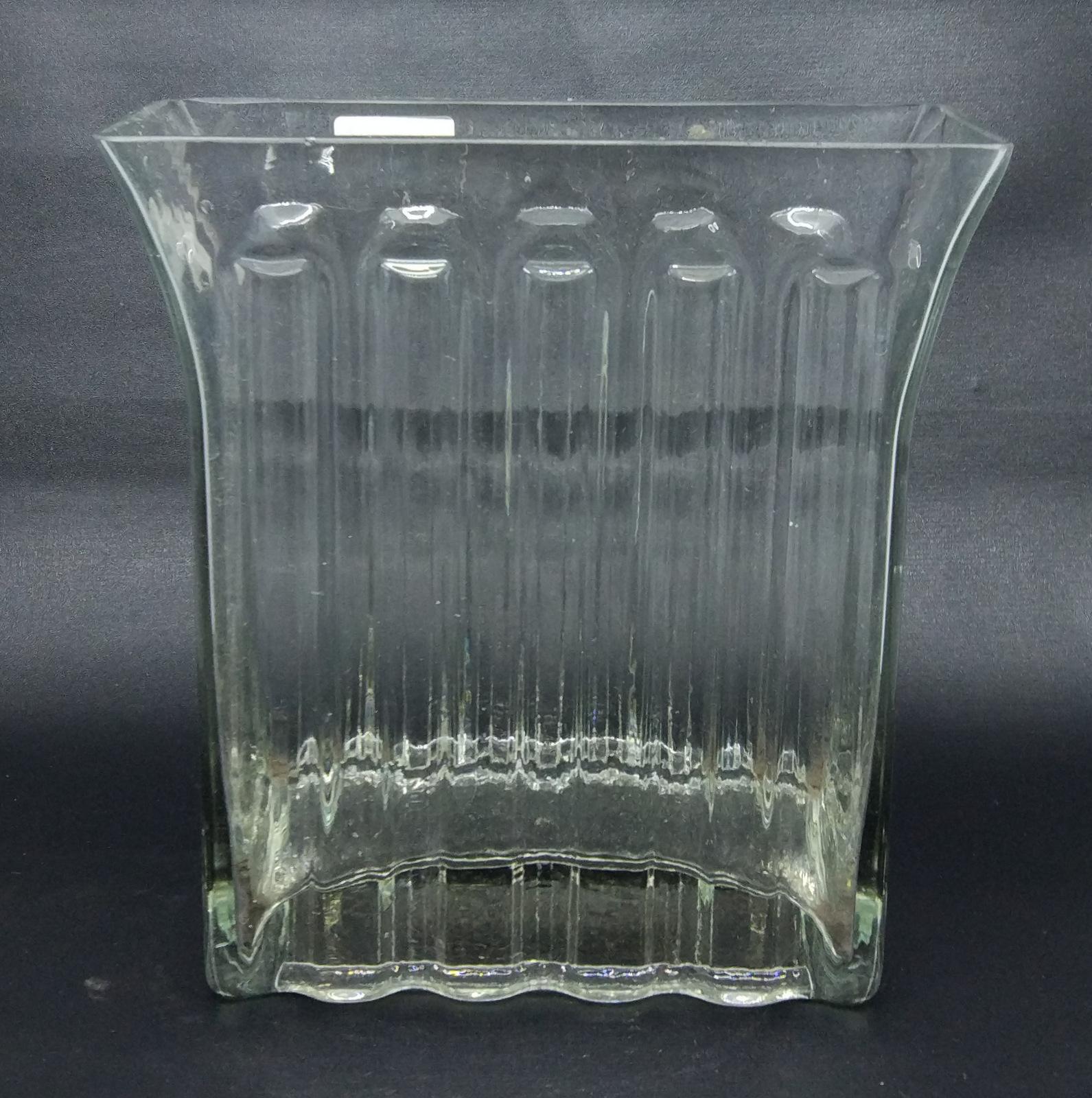 Alibambah Vas Bunga Kaca - Orlando B - 20 cm