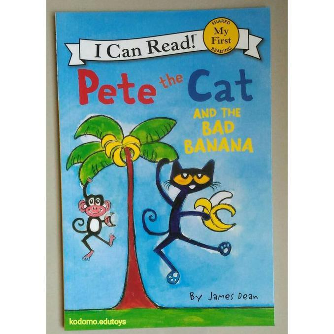 Pete The Cat And The Bad Banana- My First I Can Read-Buku Import Anak - Kidsbook