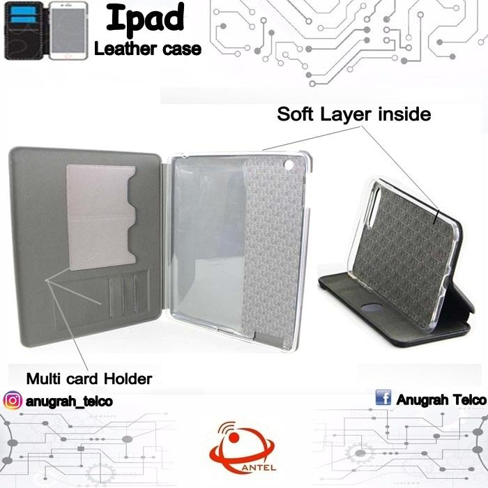Antel Case Flipcase Flipcover Magnet for Apple Ipad Air 1/Ipad 5 AntiShock Case casing sarung