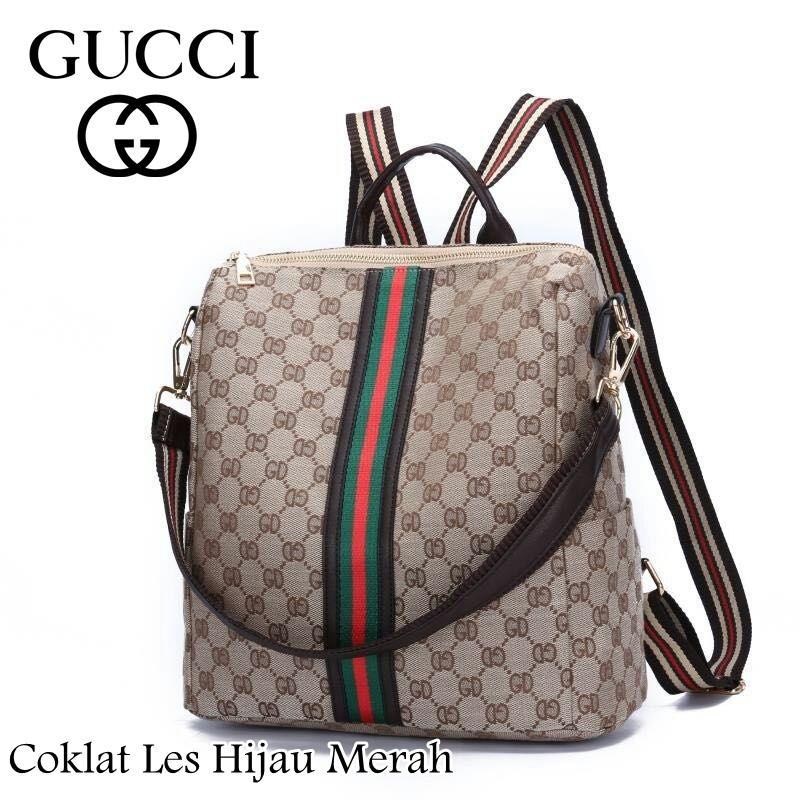 Gucci 5230 Multifungsi Fashion Tas Wanita Tas Import Tas Cewek Bag Import Ransel Branded Kualitas Premium