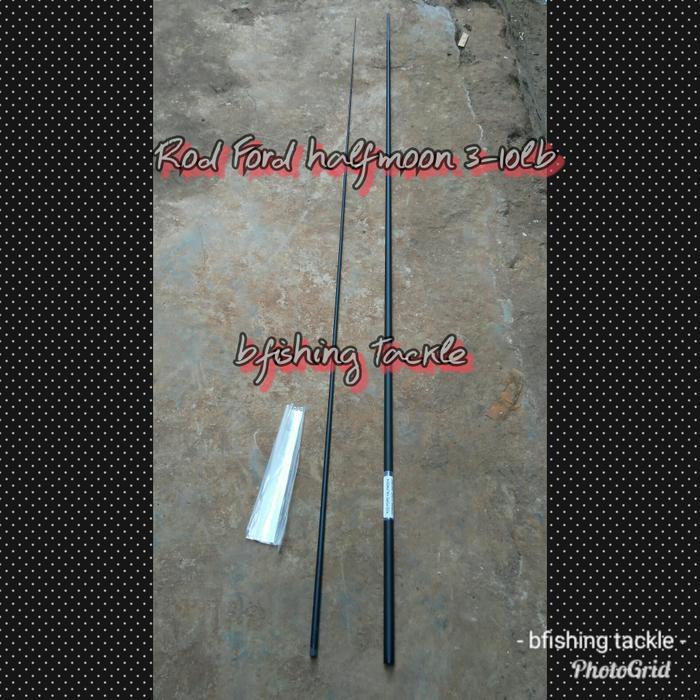 blank ROD FORD halfmoon 193cm 3-10lb UL sambung tengan - 3Afwzs