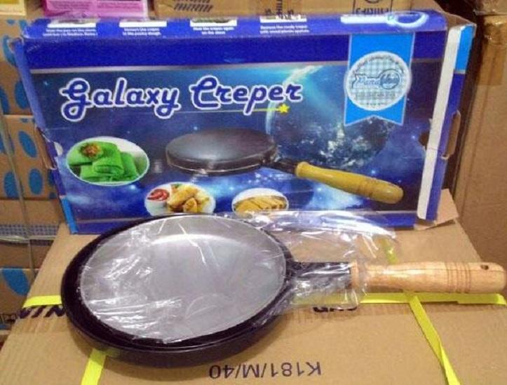 Crepe maker galaxy / wajan kwalik fungsi ukuran sama dengan vicenza
