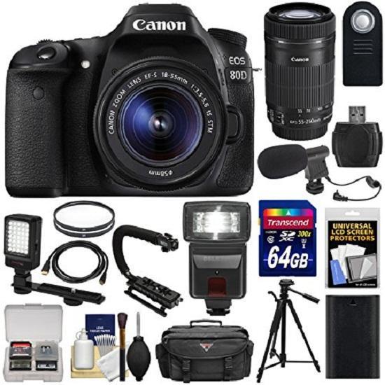 Canon EOS 80D Kit 18-55 IS STM Wifi Original