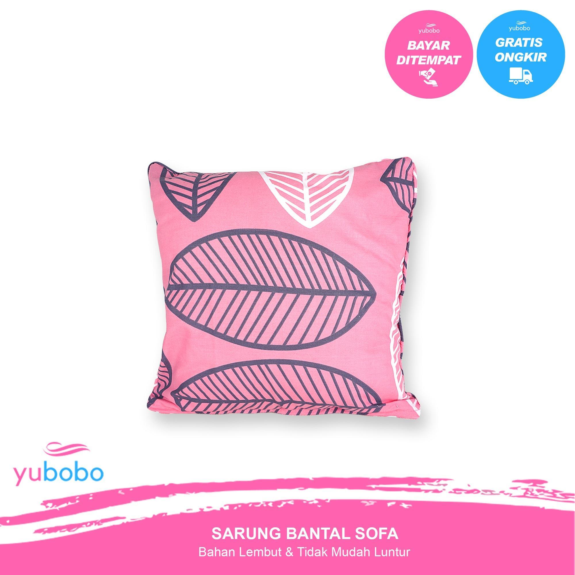 yubobo - Promo (Sarung + Bantal) Sofa Tamu 40 x 40 cm - Kursi