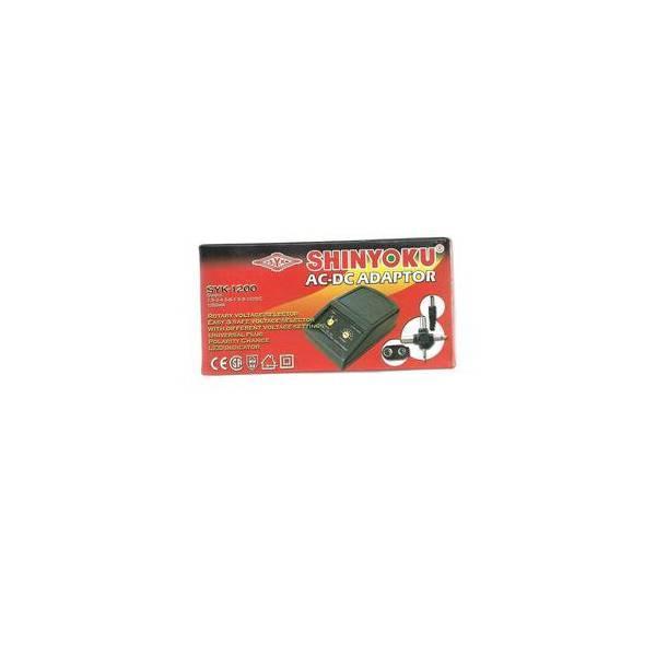 ELEKTRO - SHINYOKU SYK-1200 AC-DC ADAPTOR 1200MA - BRUSHSTORES