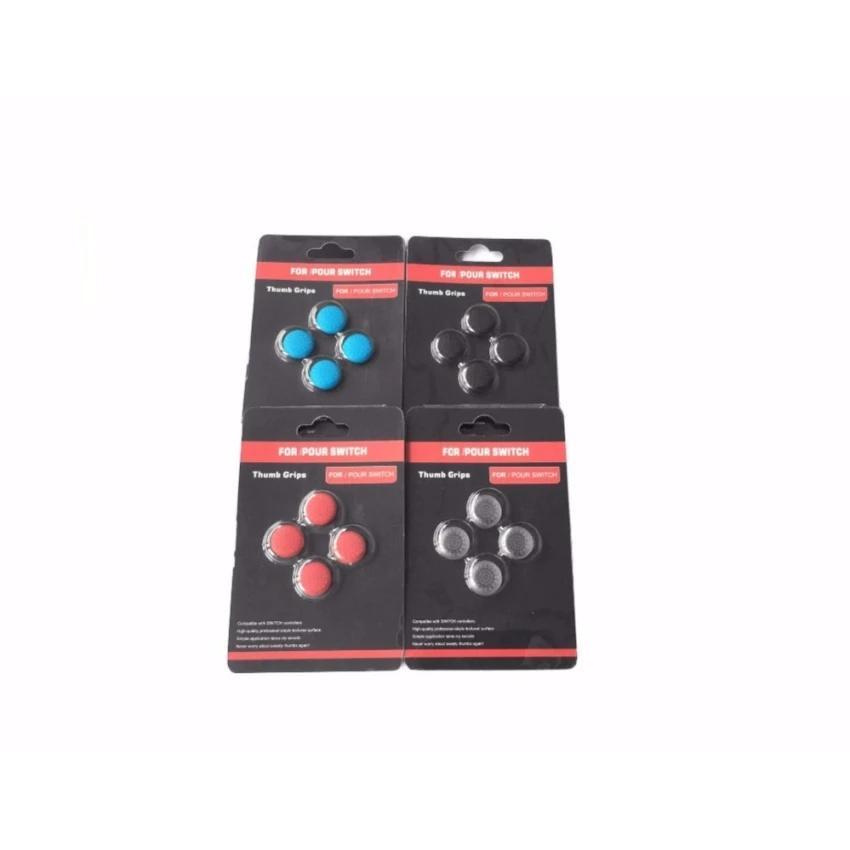 【Bln-Gaming】16 Buah Paket Eceran Silikon Thumb Tongkat Topi Gel Guards untuk Nintendo Sakelar JOY-Menipu Pengendali Joystick grips Aksesoris Permainan