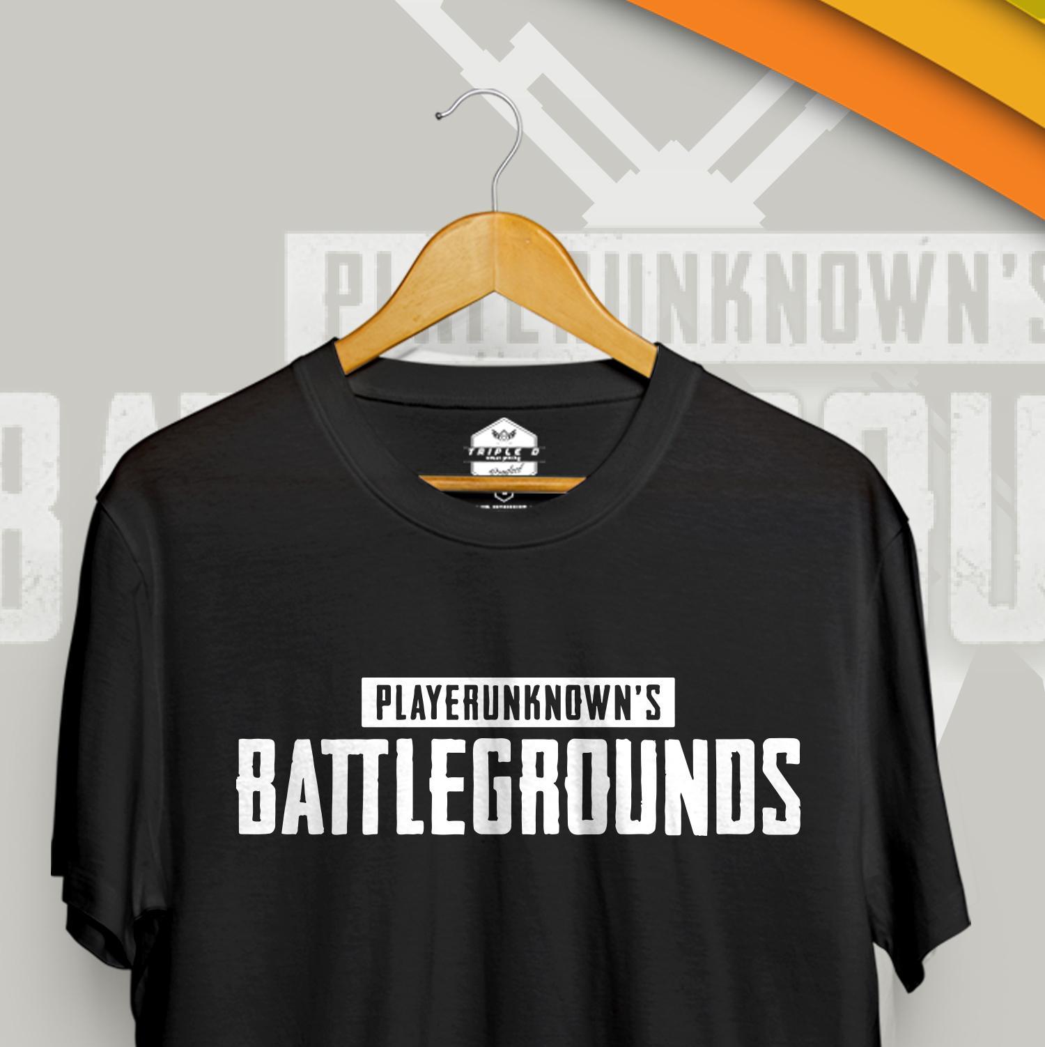 ... Kaos Distro pria wanita Games player unknown battlegrounds Triple D ...
