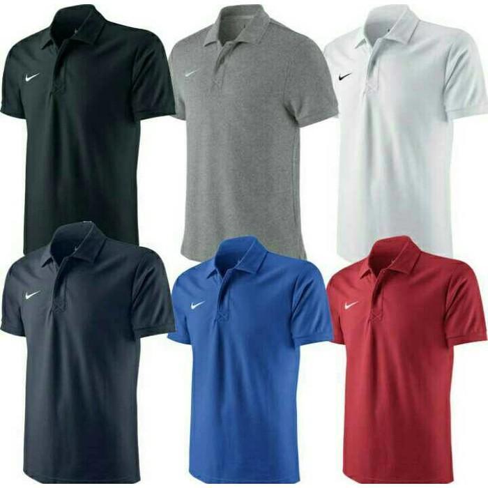 Kaos Pria Kaos Polo Shirt BIG SIZE XXXL XXXXL NIKE - Ywi4ya
