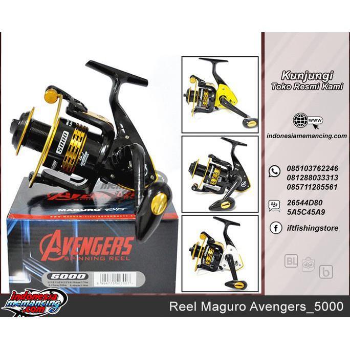 Reel Pancing Maguro Avengers_5000 - Pancingqsad