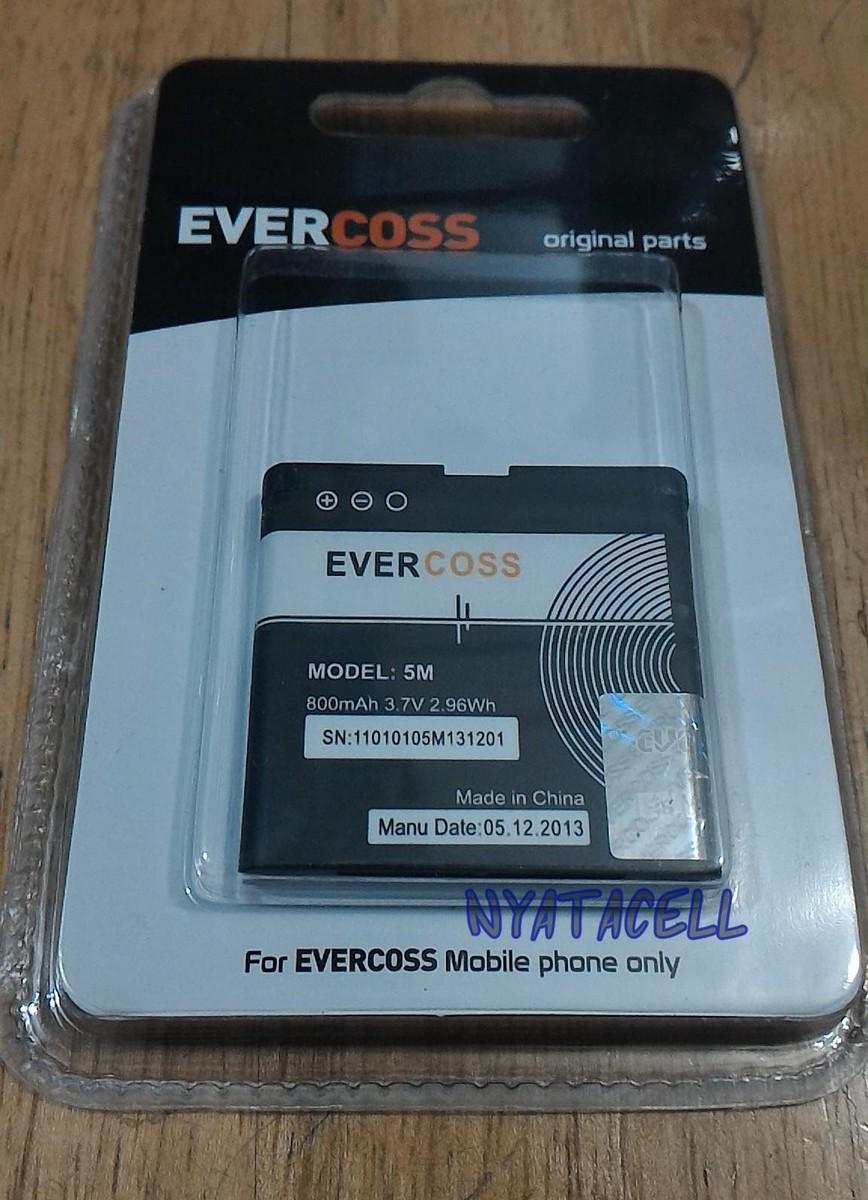 Evercoss Bp5M 800Mah Batre Baterai Original 100% Ori Nokia Bp5M 5M