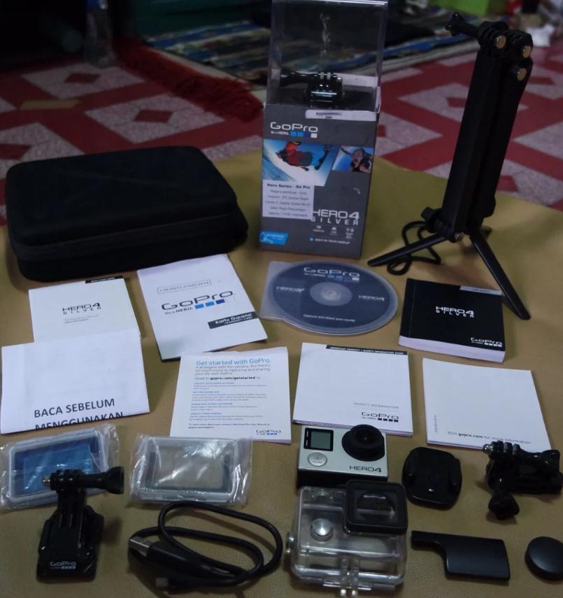 Kamera GoPro Hero 4 Se (Lengkap+Bonus)