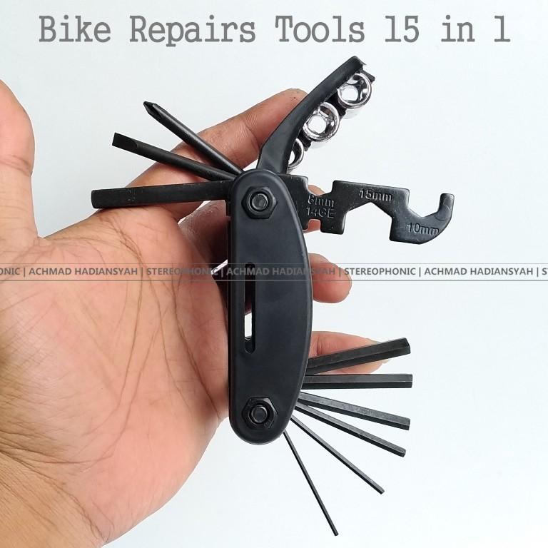 Bike ToolKit Kunci Set Sepeda Kunci Sepeda Kunci L Kunci Kombinasi Bike Tool