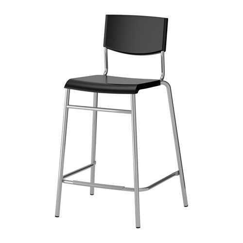 Best Seller!!! IKEA STIG Kursi bar dengan sandaran tinggi 63cm Unik Murah Minimalis