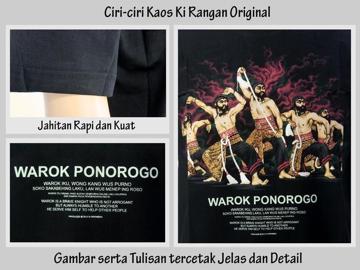 TERKECE Kaos Tradisional Murah Kaos Warok Ponorogo Kirangan Grosir PROMO