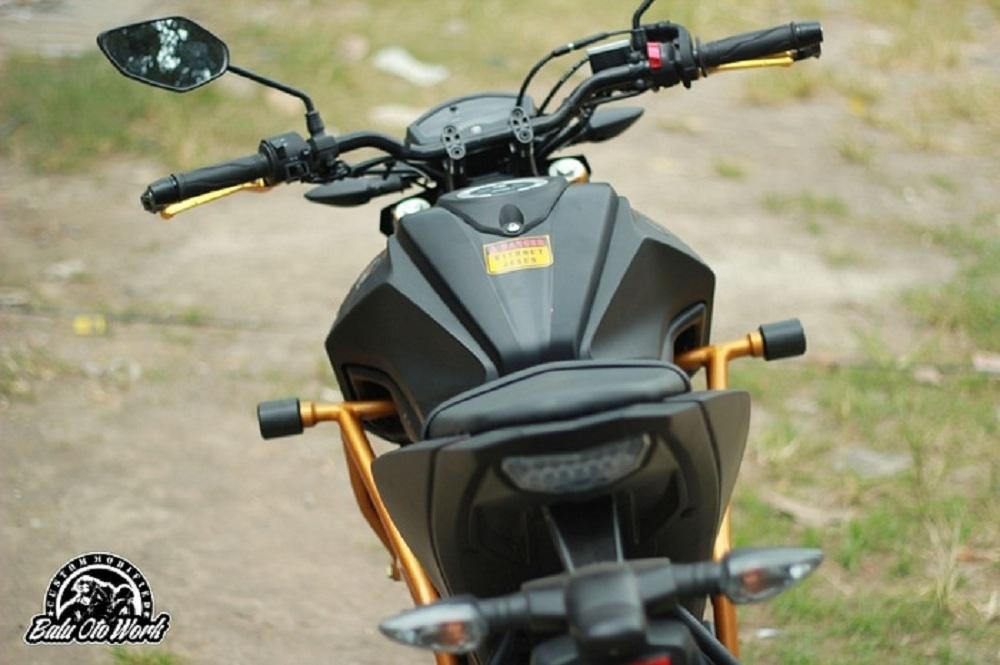 Turbular Slider Single Yamaha Xabre