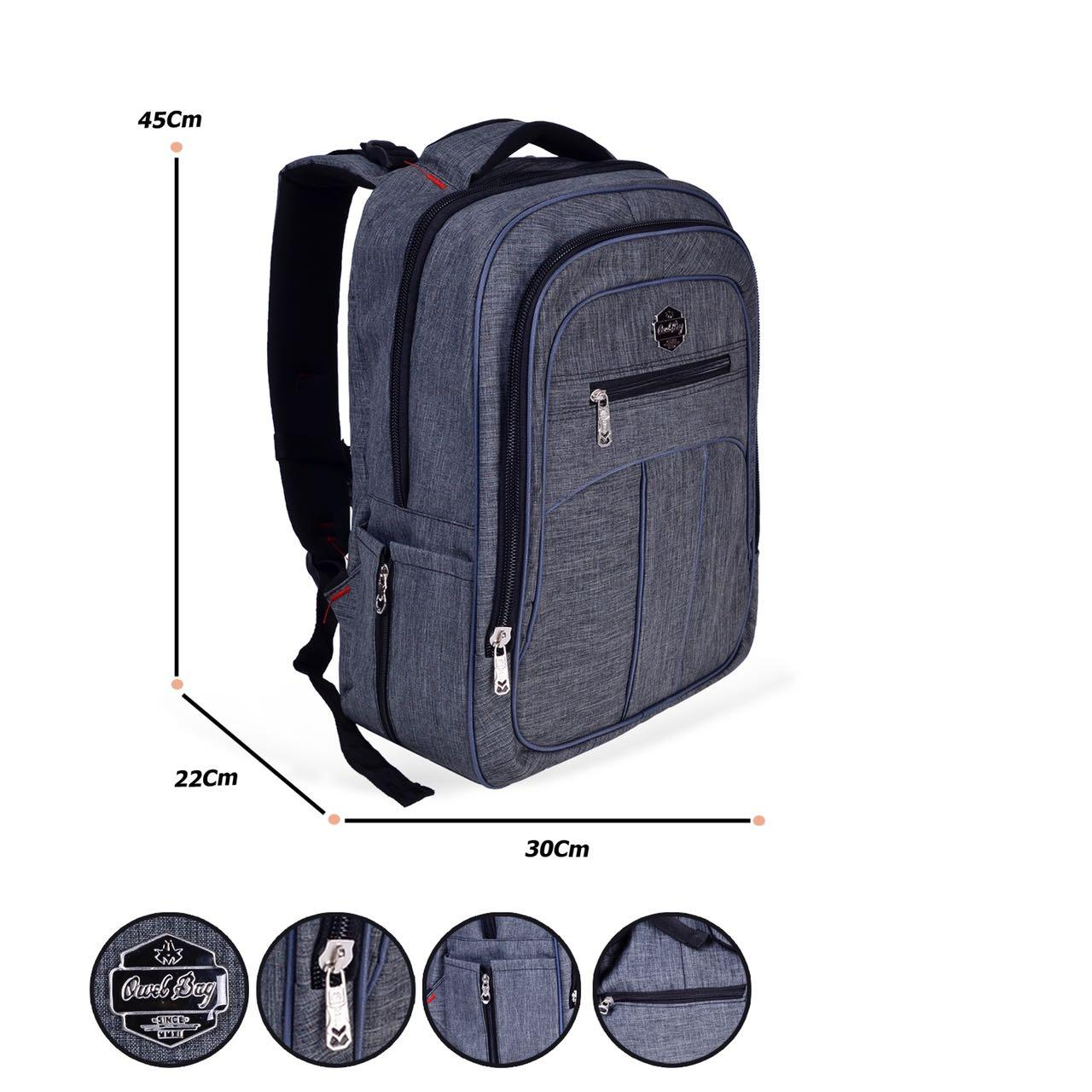Tas Ransel Leptop CLUB BAG  14674 abu+ Raincover