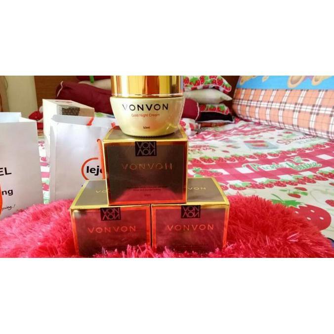 Vonvon Whitening Cream - 50ml Krim Pemutih Wajah Asli Made in Korea | Magic Plus MagicPlusIDR279000