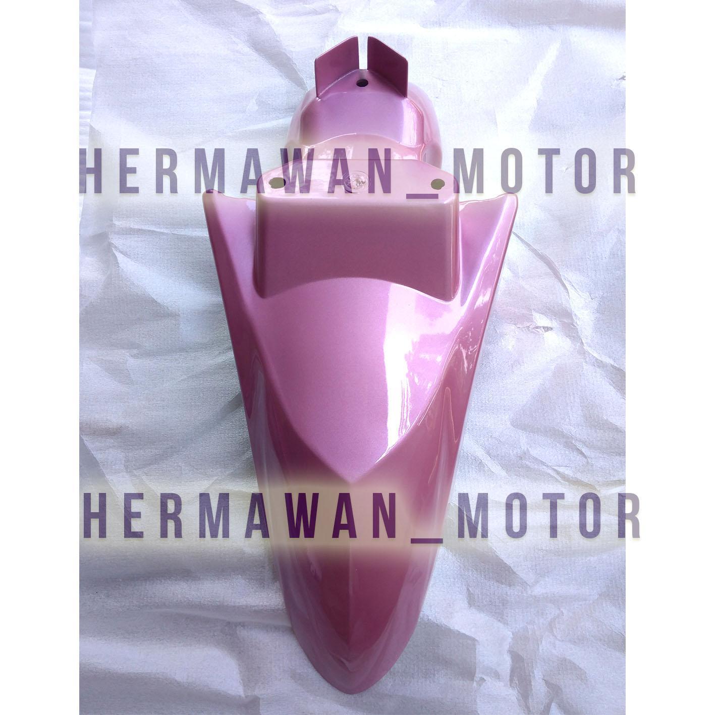 Spakbor depan Honda Vario 110 Vario karbu warna pink