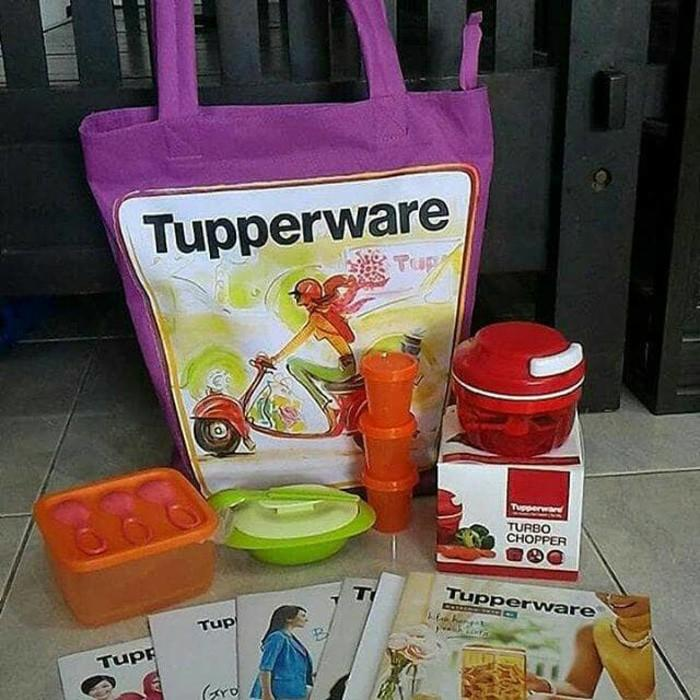 Tupperware Paket Turbo Chopper - Jrzdex